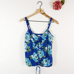 [GILLY HICKS] Sydney Floral Cotton Camisole